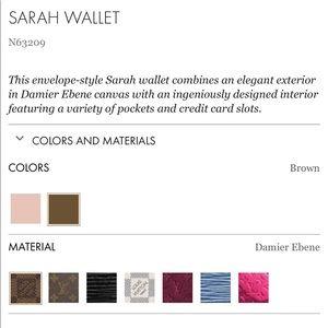 VL Sarah wallet